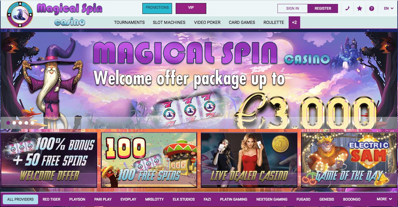 avis magical spin