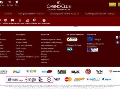 casino club avis
